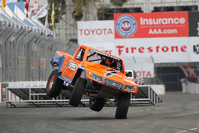 Morning practice for round two of Robby Gordon's Stadium Super Truck Series at the 39th Annual Toyota Grand Prix of Long Beach in Long Beach, California on April 21, 2013. Mandatory Photo Credit: Chris Anderson/114photography