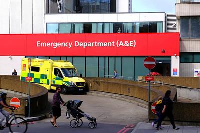 A&E, St Thomas Hospital, London, United Kingdom