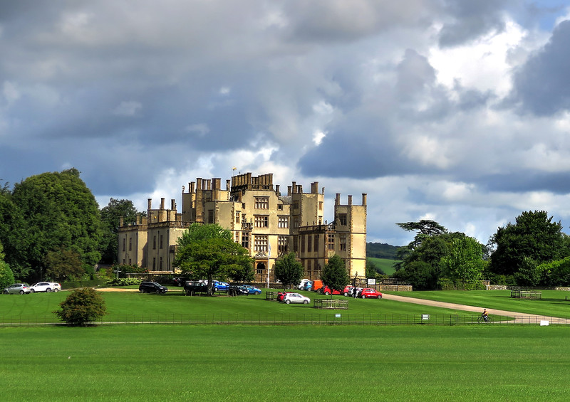 The 'New' Sherborne Castle, built in 1594 by Sir Walter Raleigh, and owned for the last 400 years by the Digby family.
