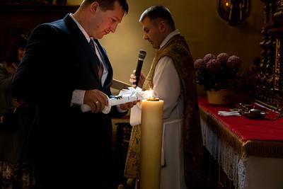 Christening of Jan, Wadowice, Poland