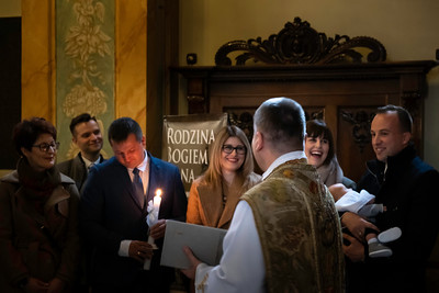 Christening of Jan, Wadowice, Poland