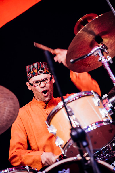 Andrzej Przybielski and Oles Brothers performing at Ealing Jazz Festival July 2009, Walpole Park,  Ealing, W5, London, United Kingdom