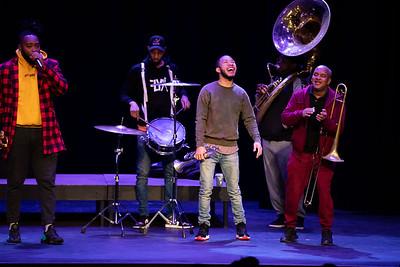 Rebirth Brass Band Morning Meeting