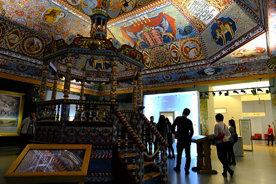 POLIN Museum of the History of Polish Jews is a museum on the site of the former Warsaw Ghetto. Warsaw, Poland