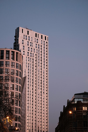 Modern architecture, City Road, London, United Kingdom