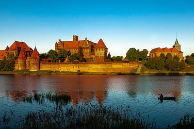 Teutonic Castle by Narev River
