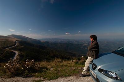 Stara Planina Mountains ( The Balkan Range ) seen from Troyan PassBulgaria