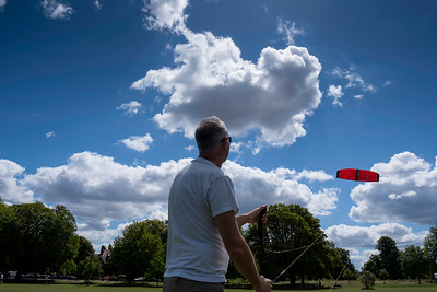 Kite Flying, Ealing Common, London, United Kingdom