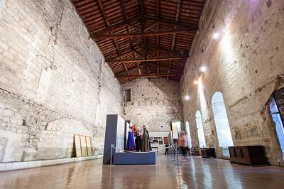 Europe, France, Provence, Avignon, Palais des Papes, Chambre de Parament