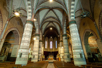 Europe, France, Provence, Digne , St Jerome's Cathedral