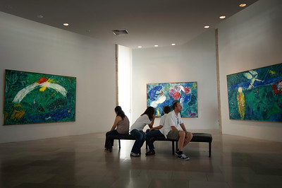 Europe, France, Provence, Nice , Musee M.Chagall