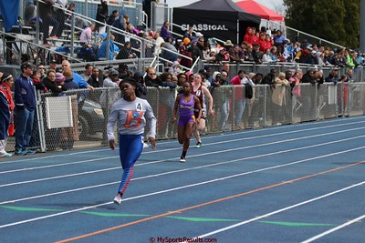 Girls 100m Dash Prelims