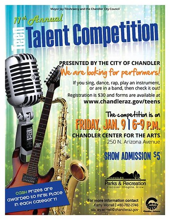 11th Chandler Talent Competition