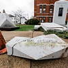 12 1 20 Peabody war memorial damage 3
