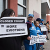 Housing Court protest 2