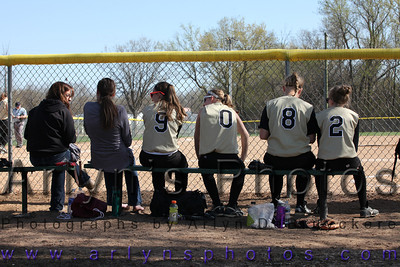 Softball V vs Kimball May 10