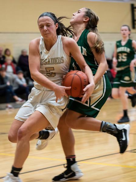 12 15 18 Bishop Feehan at Bishop Fenwick girls basketball 1