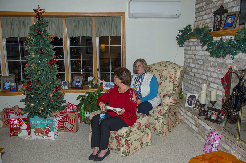 Christmas Eve at Cousin Vicky's