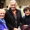 Lynn, Ma. 12-3-17. Meg Hartnett, Nancy Fraser, and Martha Larson before the start of the Celtic Thunder concert at the Lynn Auditorium.