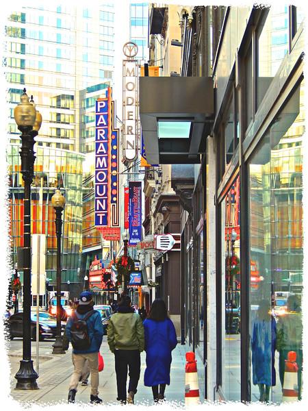 12:00 p.m.  Boston Massachusetts -- Theater District