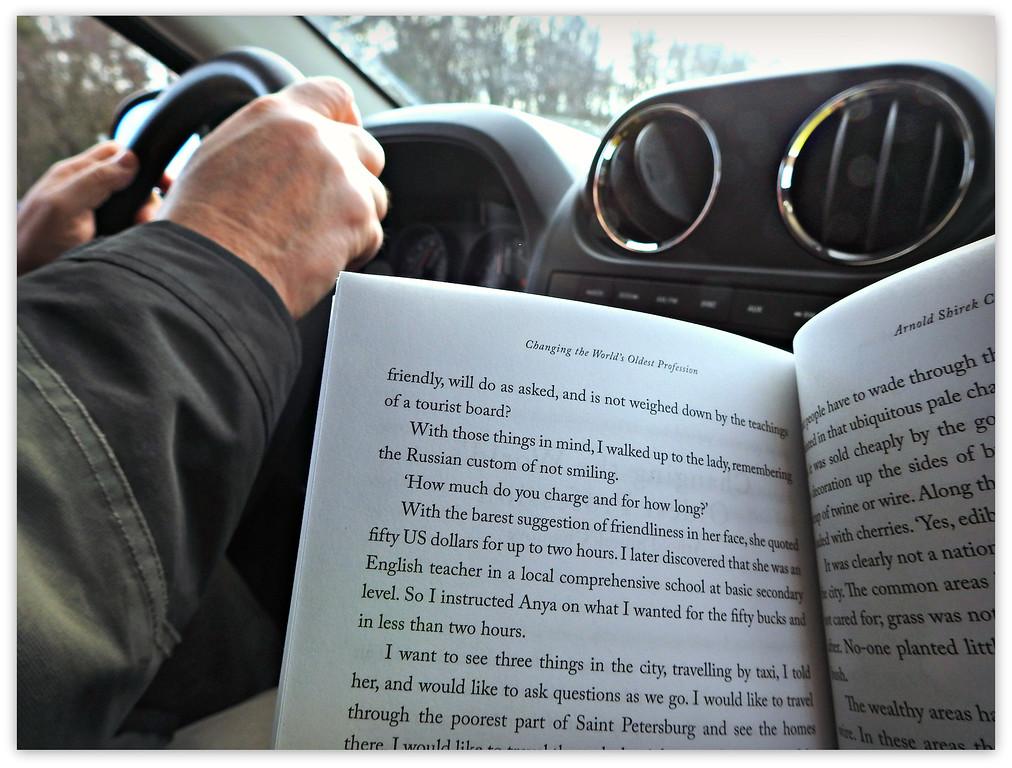 2:00 p.m.  Interstate 84 -- Reading Aloud