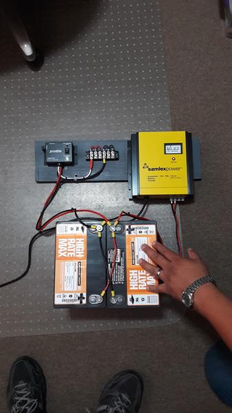 12 VDC Battery back up for new system