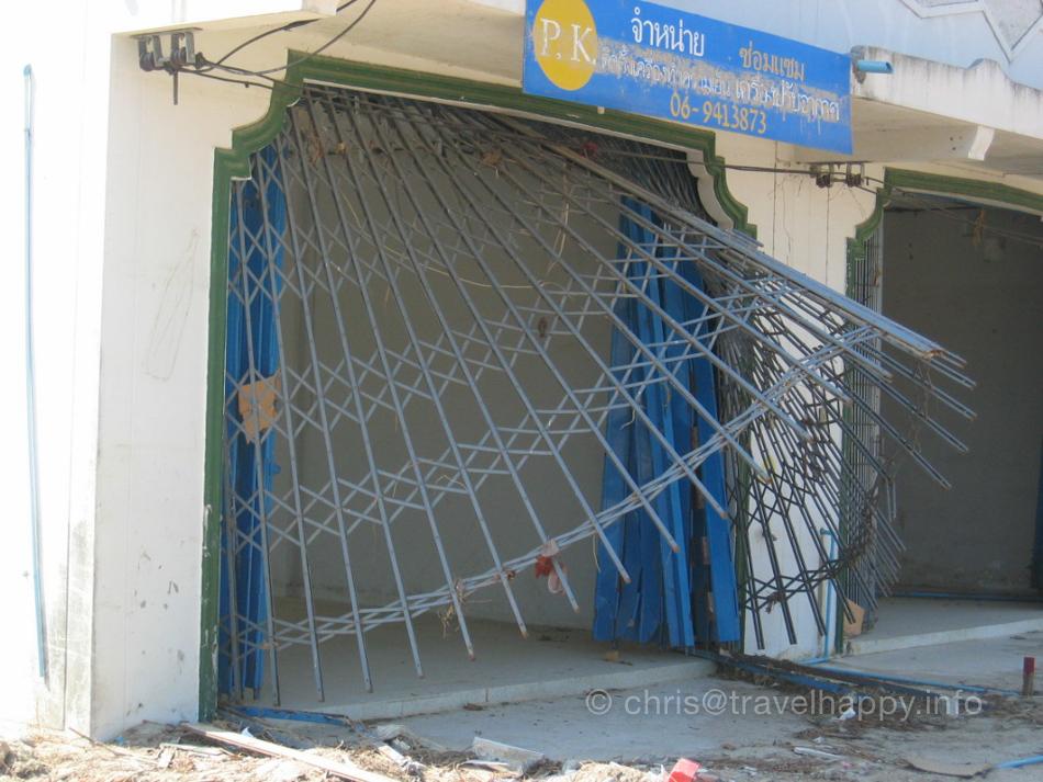 Tsunami Damage, Khao Lak, Thailand