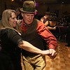 The HealthAlliance-Clinton Hospital Cat's Meow Speakeasy Tasting Gala was held on March 1, 2018 at the DoubleTree by Hilton in Leominster. Showing off their dance moves at the speakeasy was Don Ciprotti and Karen Basque both of Leominster. SENTINEL & ENTERPRISE/JOHN LOVE