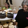 The HealthAlliance-Clinton Hospital Cat's Meow Speakeasy Tasting Gala was held on March 1, 2018 at the DoubleTree by Hilton in Leominster.  Aunty Ellen's Creative Confections had a booth with many of her cupcakes for everyone to try. Executive Chef Angela Rivera was manninng their table.  SENTINEL & ENTERPRISE/JOHN LOVE