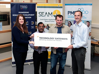 Three research centres at Waterford Institute of Technology, which are also Enterprise Ireland Technology Gateway Centres – SEAM, TSSG, and PMBRC – were awarded a share of the €6m Capital Equipment Fund