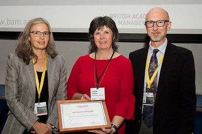 Prestigious international award for Irish Academy of Management Chair. Dr Felicity Kelliher