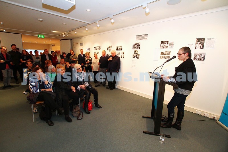 14-6-15. Launch of the AJN 120 Years Exhibition at the Jewish Museum of Australia.  Photo: Peter Haskin