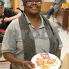 Sam Buckner for Shaw Media.<br /> Lenora James poses with the Cookies she decorated at Club 55 on Friday December 1, 2017.