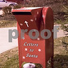 Sam Buckner for Shaw Media.<br /> A mailbox sits on the courthouse lawn where kids can mail their letters to Santa Claus on Friday December 1, 2017. Children can visit with Santa on Fridays from 5-7pm, Saturdays 11am-2pm, and Sundays from 12-2pm through Saturday, Dec. 23.