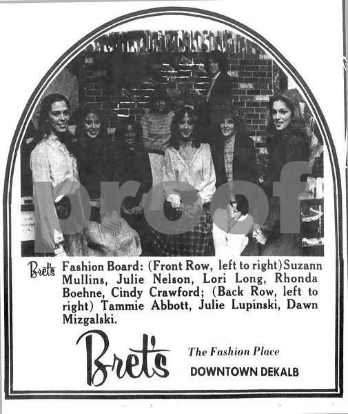 1982 ad for Bret's w/Cindy 4/25/1982 - Newspapers.com