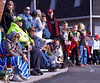 Spectators watch the Souderton Holiday Parade from the corner of Main St. and Broad St.  Dec. 2, 2017. (Bob Raines--Digital First Media)