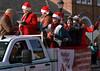 Members of the Indian Valley Arts Foundation wave and sing carols in the Souderton Holiday Parade Dec. 2, 2017. (Bob Raines--Digital First Media)