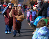 Members of Immanuel Leidy's Church hand out candy along N. Main St. during the Souderton Holiday Parade Dec. 2, 2017. (Bob Raines--Digital First Media)