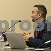 Sam Buckner for Shaw Media.<br /> City Attorney Dean Frieders explains to the council the consequences of not passing a budget before the end of the calender year on Monday December 11, 2017.