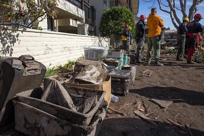 (1/21/18) Montecito Mudslide Day 13