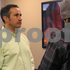Sam Buckner for Shaw Media.<br /> Mike Verbic gets interviewed after filing a petition to become mayor on Monday December 12, 2016.
