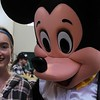 Kristi Garabrandt — The News-Herald <br> Abby Reed poses for a photo with Mickey Mouse.