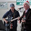 Kristi Garabrandt — The News-Herald <br> Lake County musicians Rich Harmon and Denny Carlton entertain the audience with holiday rock music.