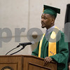 Sam Buckner for Shaw Media.<br /> Chad Young gives a speech at the commencement ceramony on Saturday December 16, 2017.