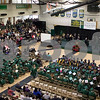 Sam Buckner for Shaw Media.<br /> The Kishwaukee College gymnasium is packed at the commencement ceramony on Saturday December 16, 2017.