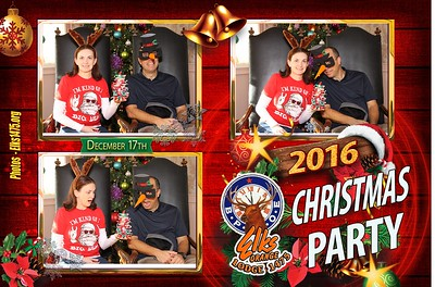 12/17/16 Kids Christmas Party Photo Booth Photo Cards