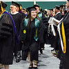 Student Trustee Abigail Cochran enters the 121st Annual Graduate Commencement at Fitchburg State University on Thursday, May 18, 2017. SENTINEL & ENTERPRISE / Ashley Green