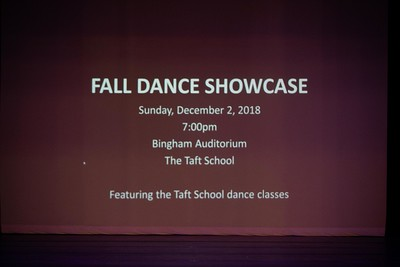 Fall Dance Showcase 2018