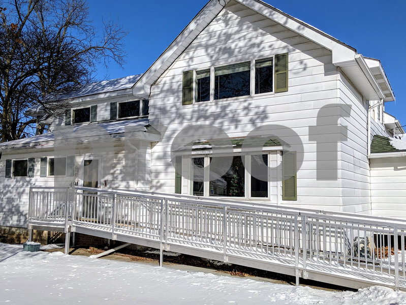 The DeKalb County sober living house at 421 E. State St., Sycamore on Dec. 26. The facility is expected to open Feb. 1. Originally purchased for $145,000, the total cost of the project including acquisition and remodeling has ballooned to $429,000.