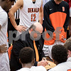 Sam Buckner for Shaw Media.<br /> DeKalb head coach Al Biancalana draws out a play before the 4th quarter against Marmion on Wednesday December 28, 2016.